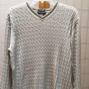 Mens v-neck sweater